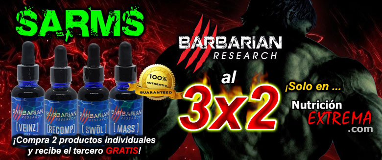 SARMS! Barbarian Research al 3x2
